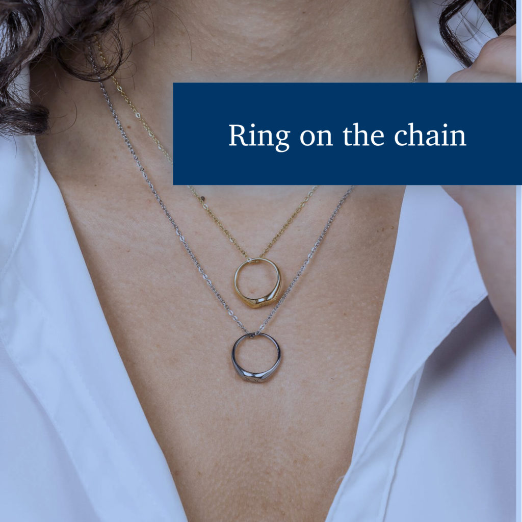 Why wear a ring on a chain around the neck