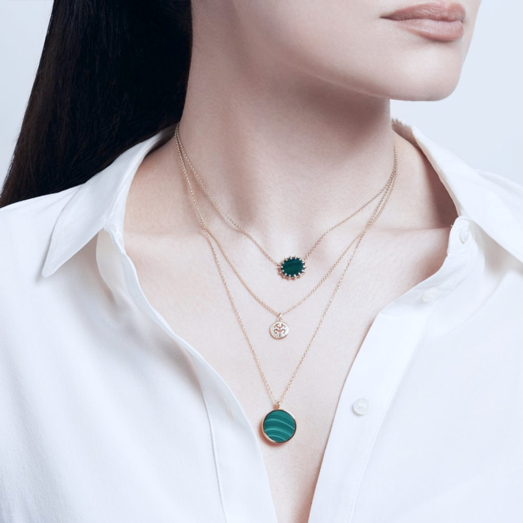 How to combine jewellery of different lengths