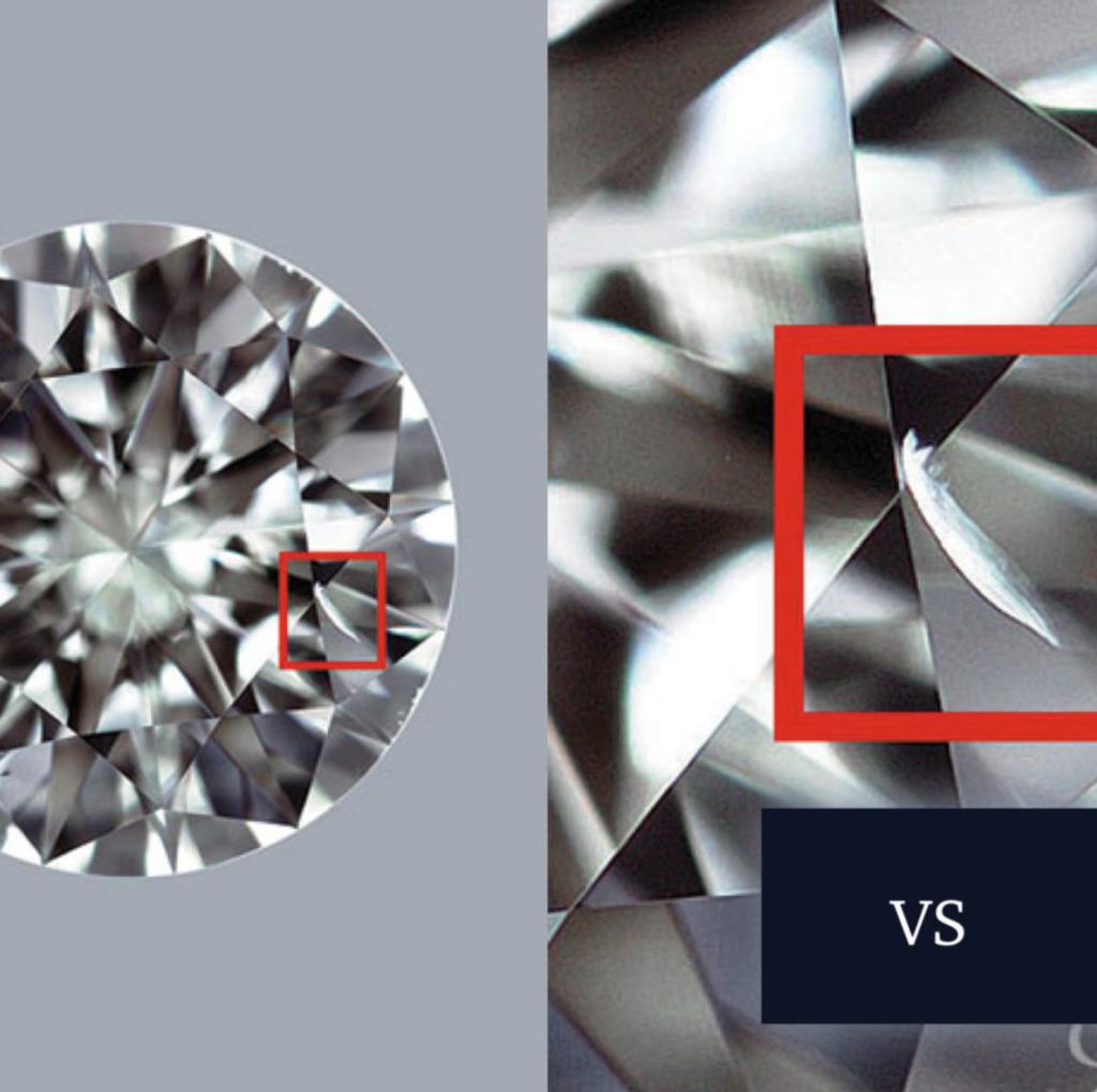Чистота VVS и VS. В чем разница?