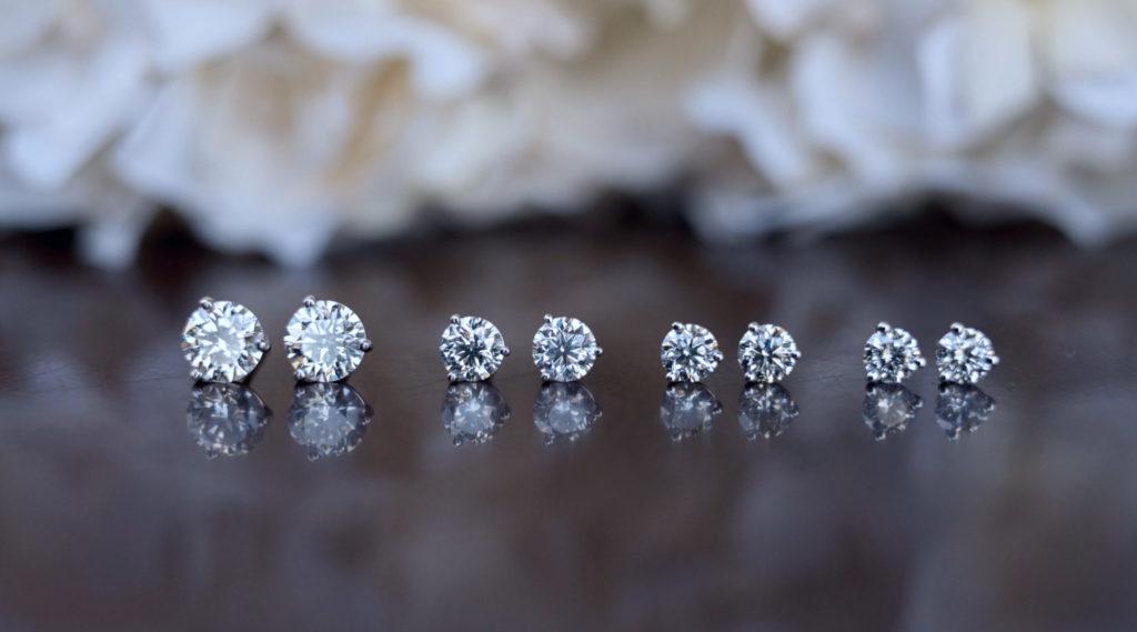 Everyday jewellery stud earrings
