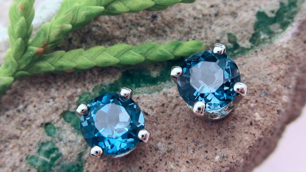 Topaz is often completely colorless or very faintly colored