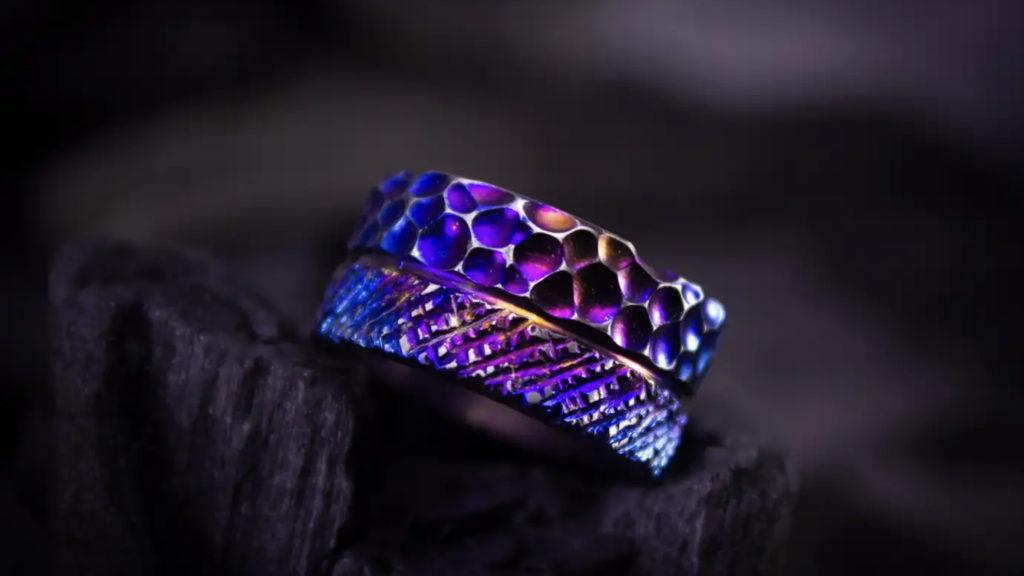 Titanium: how jewelers mastered the chameleon metal